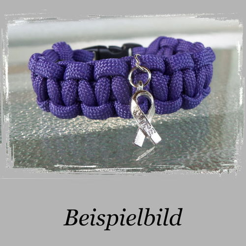 "geknotetes Armband mit Anhänger ""hope"""